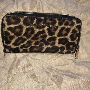 Beautiful Michael Kors Leopard wallet